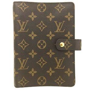 Louis Vuitton Monogram Notebook/Agenda/Planner ++